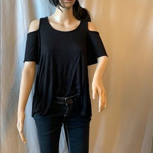 COLD SHOULDER BLOUSE EXTRA SMALL